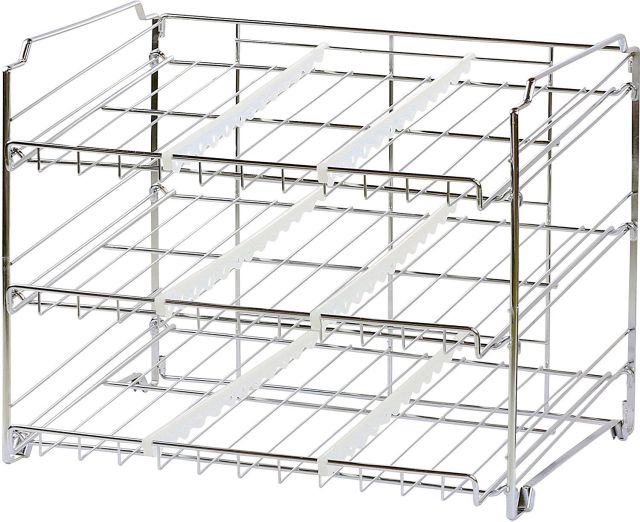 Kitchen Storage Can Rack Holder Canned Food Organizer Pantry Shelf Stand Display 2