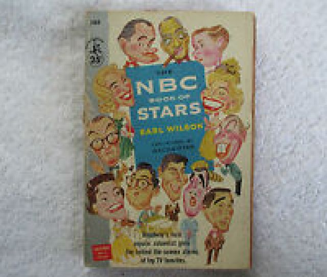 Nbc Book Of Stars By Earl Wilson St Pocketbook  Paperback Vg