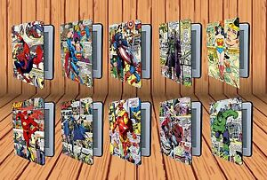 Marvel Superheroes Comic Book For Amazon Kindle Paperwhite Leather Case Cover
