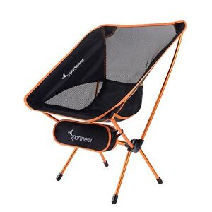 compact camping chair dx razer portable folding backpacking garden image is loading