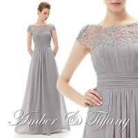 New Bridesmaid Formal Prom Long Maxi Gown Evening Party ...
