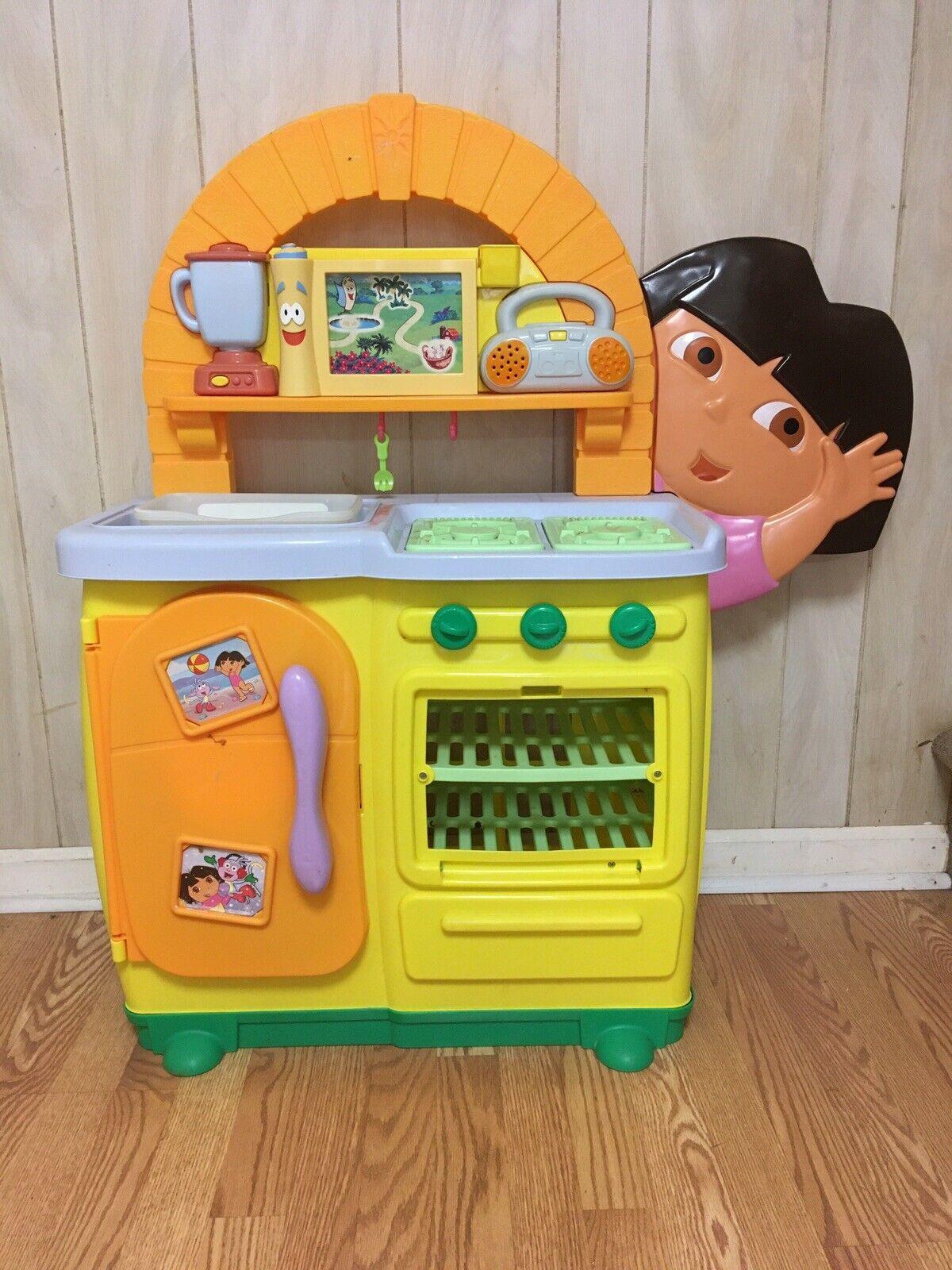 Dora Kitchen Toy : kitchen, Doras, Kitchen