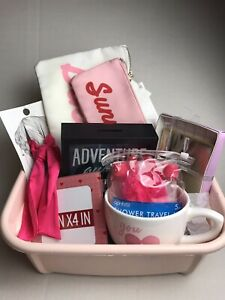Lot 7 Piece Vacation Gift Set For Travel Easter Birthday Basket Ebay