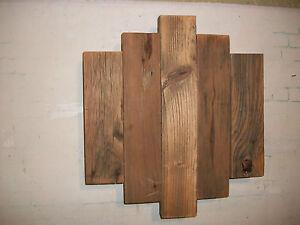 Contemporary Barnwood Wall Art Rustic Decor Reclaimed Wood