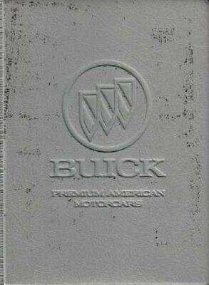 Bishko OEM Maintenance Owner's Manual Bound for Buick Le