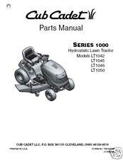 Cub Cadet SLT1550-SLT1554 Service, Owner & Parts Manual