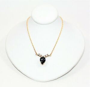 Certified D'Block Tanzanite & Diamond 3.64tcw 14kt Yellow