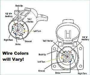 hopkins 40955 wiring diagram 3 phase delta transformer ford chevy gmc 7 way oem and 4 trailer connector kit image is loading