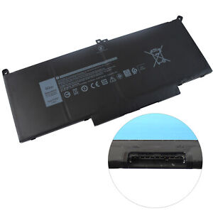 F3YGT Laptop Battery Replacement for Dell Latitude 12 7000 7280 7490 E7480 DM6WC | eBay