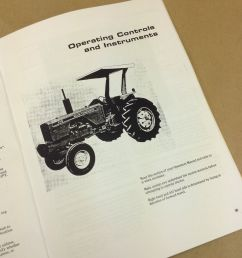 allis chalmers 175 tractor operators owners manual gas gasoline diesel ebay [ 1600 x 1600 Pixel ]