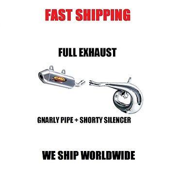 FMF GNARLY FULL PIPE EXHAUST + SHORTY SILENCER 11-15 KTM