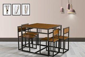 details sur westwood compact cuisine table de salle a manger et 4 chaises gain d espace set home ds15 afficher le titre d origine