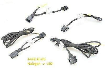 AUDI A3 8V pre-facelift LED taillights adapter cable set