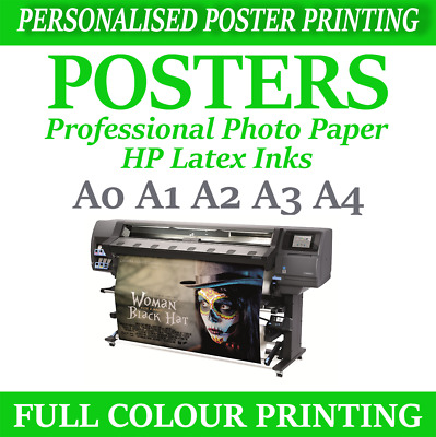 custom poster printing personalised poster prints your poster a4 a3 a2 a1 a1 a0 ebay
