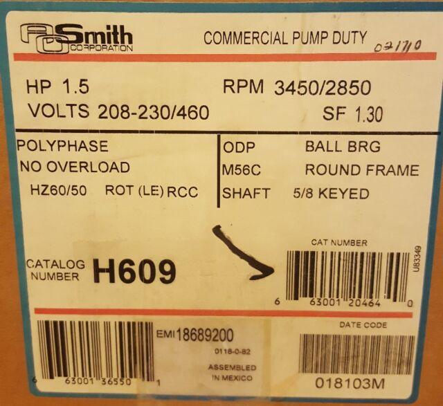 Century Motor Date Code