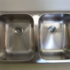 Rv Kitchen Sink Chairs On Rollers 25 X 15 Lasalle Bristol Stainless Steel Double 25x15x5 Part 1317ssd25155 Camper