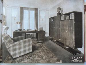 details sur catalogue meubles levitan annees 50