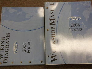 2006 FORD FOCUS Service Repair Shop Manual Set W WIRING