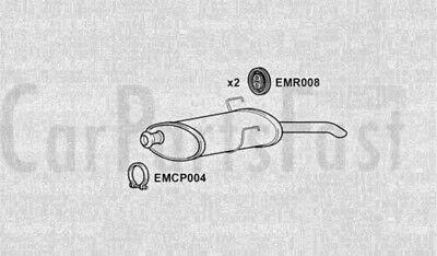 Exhaust Rear Box Peugeot 406 1.9 Diesel Estate 02/1996 to