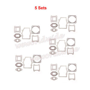 5sets Engine Gasket Kit For 47cc 49cc Chinese Mini Moto