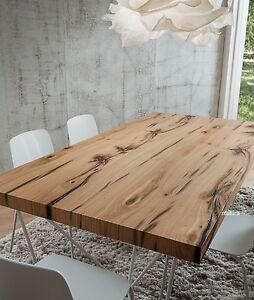 TAVOLO SOGGIORNO ROVERE ANTICO PRDENIS 200x100 cm