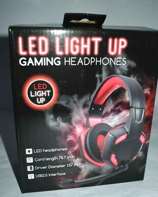 Led Light Up Gaming Headphones : light, gaming, headphones, Gaming, Headphones, Nintendo, Switch, Light, 4895095121428