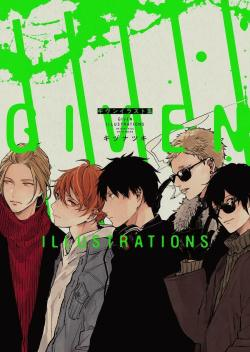 Given Illustrations Natsuki Kizu Anime Manga Art Book NOITAMINA BL Yaoi JP
