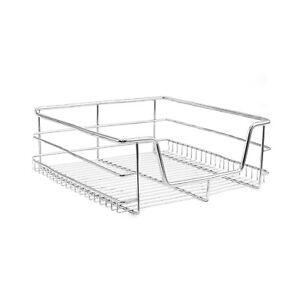 details sur 3 panier de rangement coulissant cuisine meuble pour placard etagere tiroir 40cm