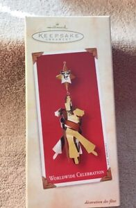 Worldwide Celebration`2002`Meaning Of Beauty And Glad Tidings.Hallmark Ornament | eBay