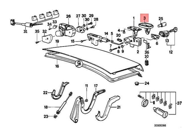 Genuine BMW E32 730i 730iL 735i 735iL 740i 740iL 750i