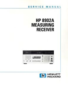 Original Hewlett Packard 8902A Measuring Receiver Service