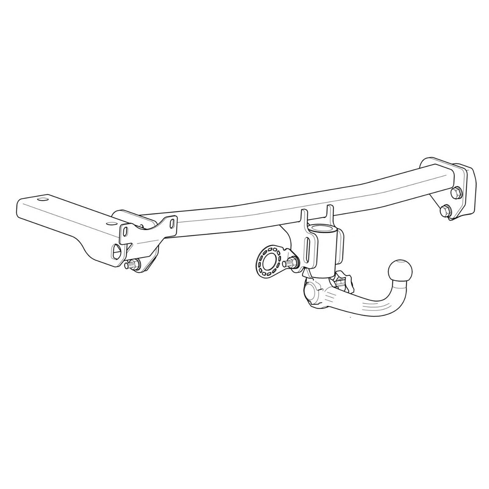 Westfalia Towbar for Land Rover Freelander 2 2007-2015