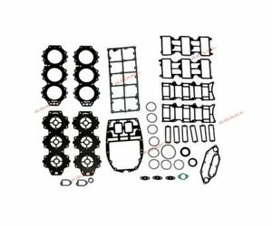 For YAMAHA Outboard 225 250 HP Power Head Gasket Kit 61A