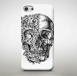 Awesome Candy Skull Tattoo Art Fire Ghost Rider Drawing