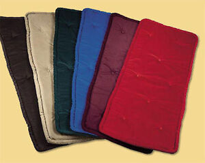 Piano Bench Cushion Pad Tufted Velour Color Size Choice Ebay