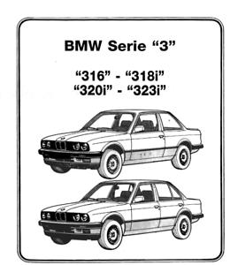 Manual de taller BMW 316i,320i 323i,318i Serie 3 1983