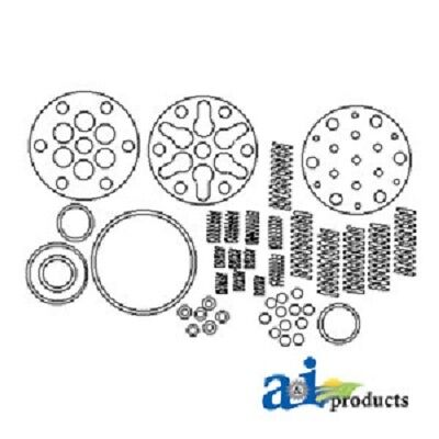 Ford Tractor Piston Type Hydraulic Pump Repair Kit