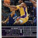 2001-02 Upper Deck MVP Basketball Diary Kobe Bryant #B2, Insert, Lakers