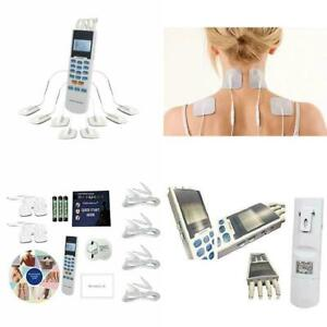 Pain Relief OTC TENS unit 4 outputs apply 8 pad Muscle ...