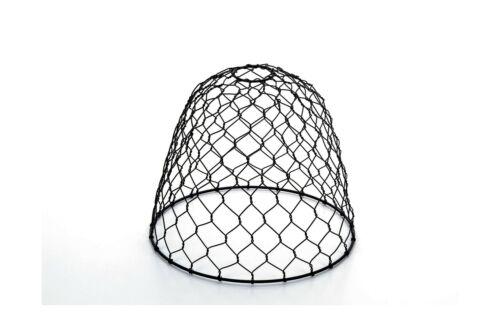 lampenschirme 10 black dome metal cleveland vintage lighting 30397a chicken wire shade mobel wohnen bitsouls ru