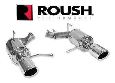 2011 2014 ford mustang 3 7 v6 axle back exhaust roush 421145 ebay