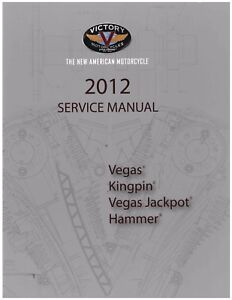 Victory Service Workshop Shop Repair Manual 2012 Vegas