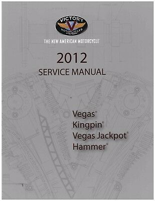 Victory Service Workshop Shop Repair Manual 2012 Vegas