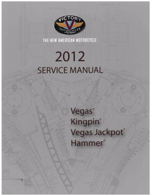 Victory Service Workshop Shop Repair Manual 2012 Vegas 8