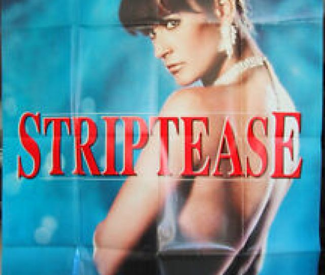 Image Is Loading Striptease Movie Poster French X Grande Size Demi