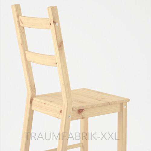 ikea bois massif chaise de cuisine chaise machoire ivar chaise en bois nouveau ovp nature chaises