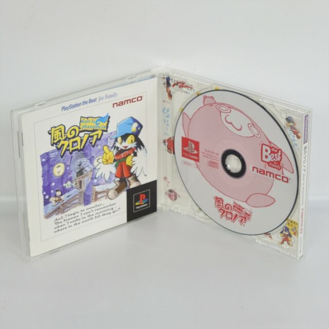 KAZE NO KLONOA Door to Phantomile The Best PS1 Playstation ccc For JP System p1 for sale online