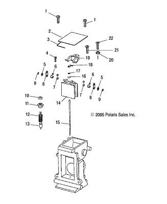 Polaris Plunger 258 Assembly Genuine OEM Part Qty 1