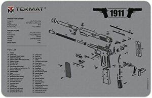 Grey 1911 Handgun Cleaning Mat by TekMat, Gun Cleaning Mat