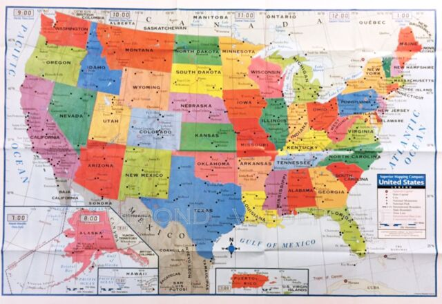 From consulting with a realtor to conducting your own search, here are some options available to you. United States Wall Map Home School Office For Sale Online Ebay